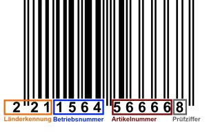 barcode, EAN, Barcode beispiel, www.just-your-music.de, just your music, blog